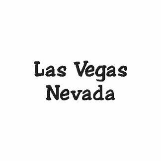 Pólo bordado Nevada de Las Vegas Camiseta Bordada Polo