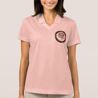 Pólo com logotipo da prima do CMS Camisa Polo