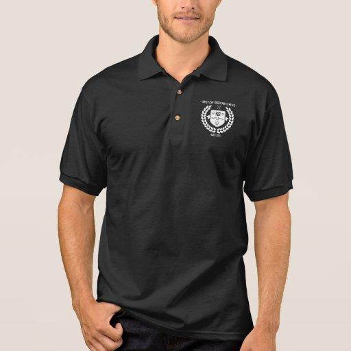 Pólo do algodão de BSM T-shirts