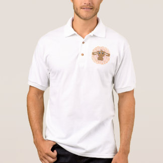 Pólo do coelho de Brown T-shirt Polo