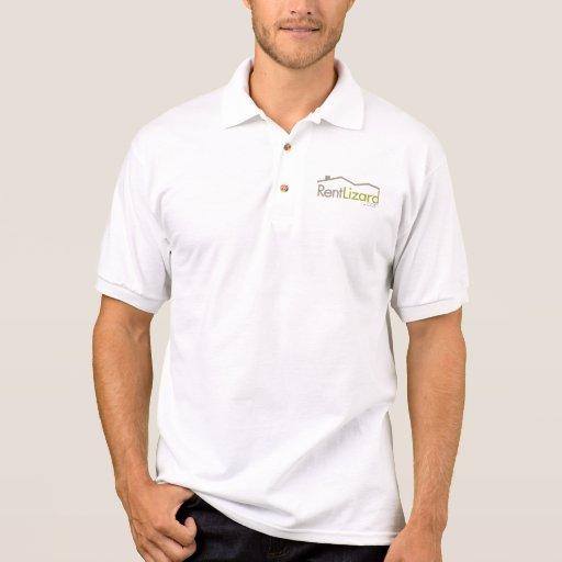Pólo do logotipo de RentLizard Camiseta