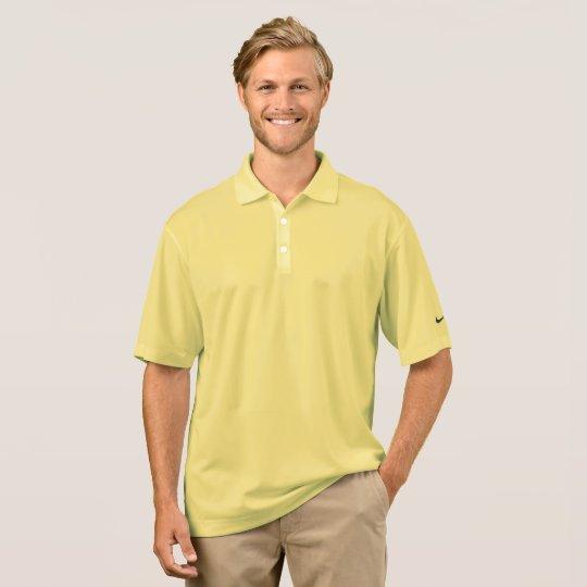 Camisa Polo Masculina Nike Dri-FIT Pique, Cornsilk