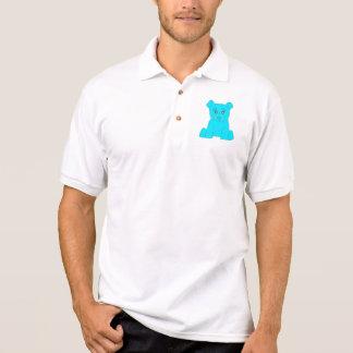 Pólo do urso de turquesa t-shirt polo