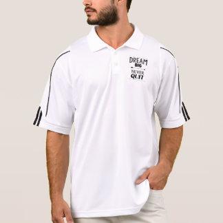 Pólo inspirador inspirado das citações camisa polo