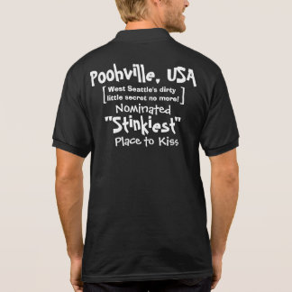 Pólo oficial para Poohville, EUA T-shirt Polo