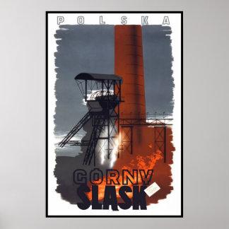 Polônia de Gorny Slask do poster das viagens Pôster
