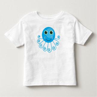 Polvo azul bonito dos desenhos animados camiseta