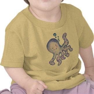 Polvo do bebê camisetas