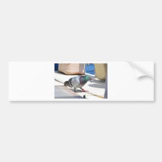 Pombo de direcção em um iate adesivo para carro