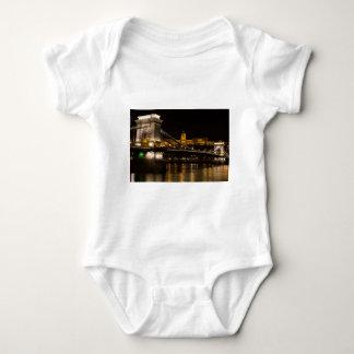 Ponte Chain com castelo Hungria Budapest de Buda T-shirts