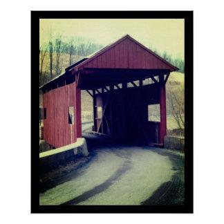 Ponte coberta póster