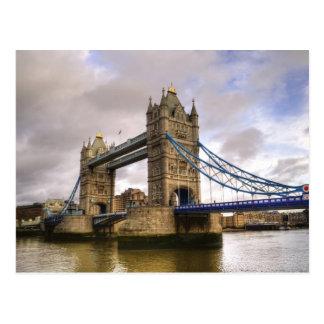 Ponte da torre de Londres Cartão Postal