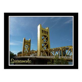 Ponte da torre, Sacramento Cartão Postal