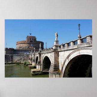 Ponte de Angelo do santo Póster