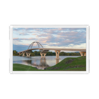 Ponte de Champlain Bandeja De Acrílico