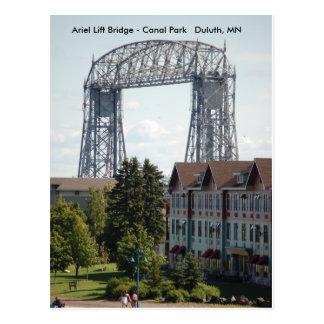 Ponte de elevador de Ariel, ponte de elevador de Cartão Postal