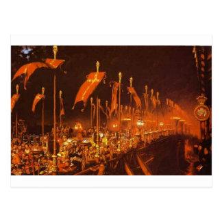 Ponte de Londres na noite do casamento Cartão Postal