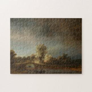 Ponte de pedra de Rembrandt Quebra-cabeças