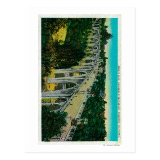 Ponte de Seco do Arroyo, ponte da rua de Colorado Cartão Postal