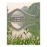 Ponte de Xiuyi Modelo De Panfleto