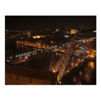 Ponte do ferro dos DOM Luis em Porto Cartão Postal