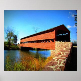 Ponte histórica pôsteres