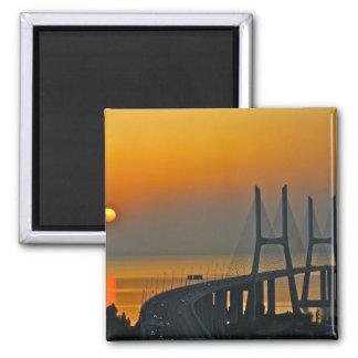 Ponte Lisboa Portugal de Vasco da Gama Imãs De Refrigerador