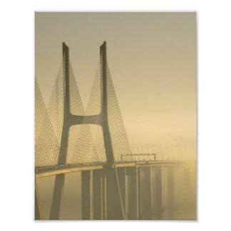 Ponte Lisboa Portugal de Vasco da Gama Impressão De Foto
