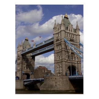 Ponte Londres da torre, Inglaterra Cartão Postal