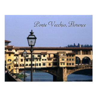 Ponte Vecchio, cartão de Florença |