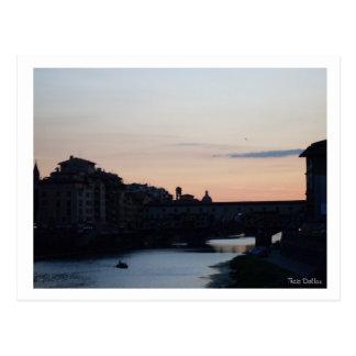 Ponte Vecchio Cartão Postal