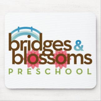 Pontes & flores prées-escolar mouse pad