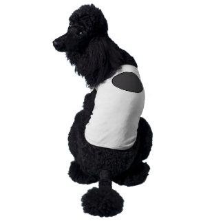 Ponto DarkGrey Camisa Sem Mangas Para Cachorro