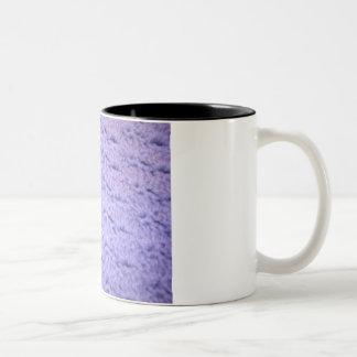 Pontos crocheted da caneca de café