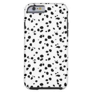 Pontos Dalmatian, Dalmatian, pele Capa Tough Para iPhone 6