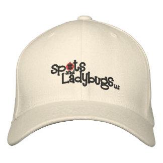 Pontos e joaninhas, chapéu de lãs do LLC Flexfit Boné Bordado