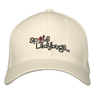 Pontos e joaninhas, chapéu do flexfit de lãs do LL Bonés