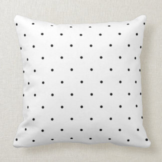 Pontos preto e branco das bolinhas travesseiros