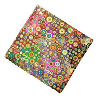 Pontos retros coloridos + sua ideia bandana