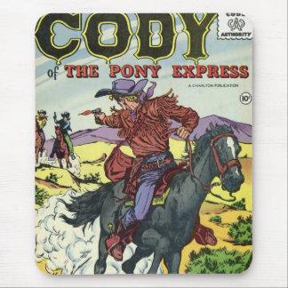 Pony Express Cody Mousepad
