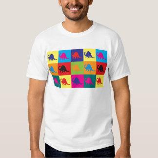 Pop art da paleontologia tshirt