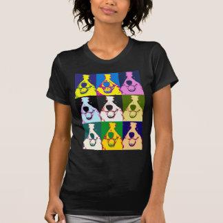 Pop art de border collie t-shirt