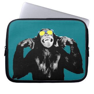 pop art do macaco bolsa e capa para computadore