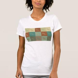 Pop art dos fósseis camisetas