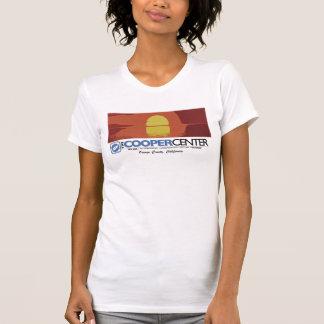 Por do sol Center de OC do tanoeiro Tshirts
