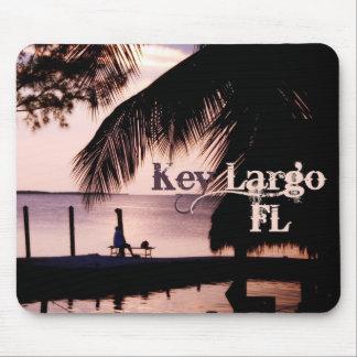 Por do sol chave Mousepad de Florida do Largo