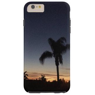 Por do sol de Califórnia Capas iPhone 6 Plus Tough