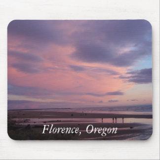 Por do sol de Florença, Oregon Mouse Pad
