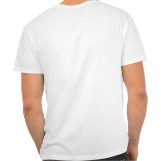 Por do sol desvanecido tshirt