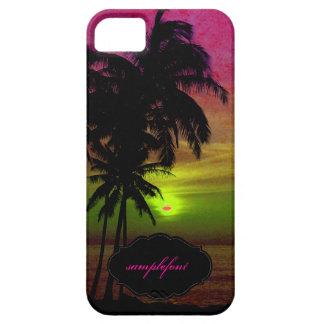Por do sol do hula de PixDezines Capas Para iPhone 5
